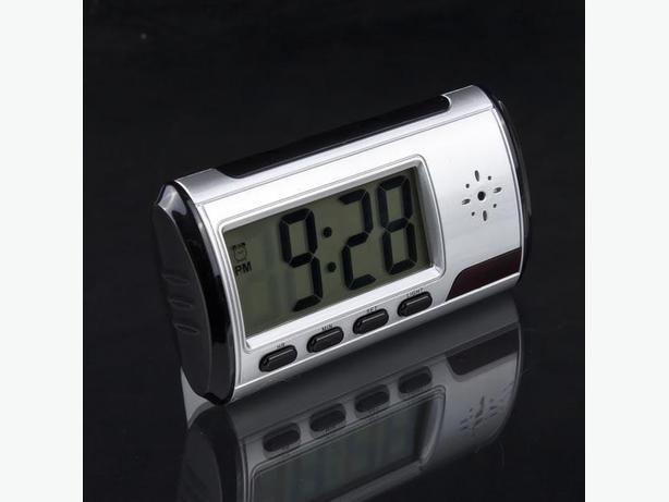 New Digital Alarm Clock Hidden Camera Camcorder with Remote Controler