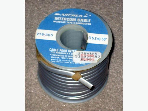 2 Like-New, Never Used Rolls of Cable for Audio Use