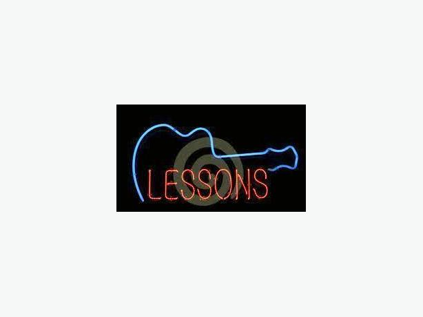 Guitar/Bass/Drum Lessons