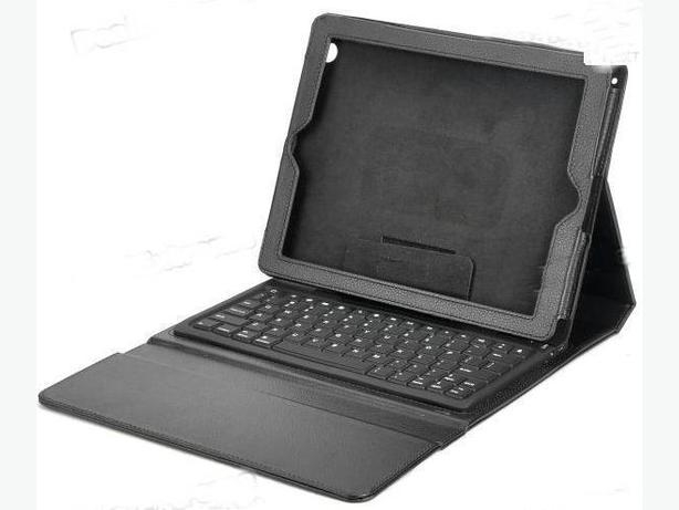 Leather Case with Bluetooth keyboard for iPad 2 , 3 & 4