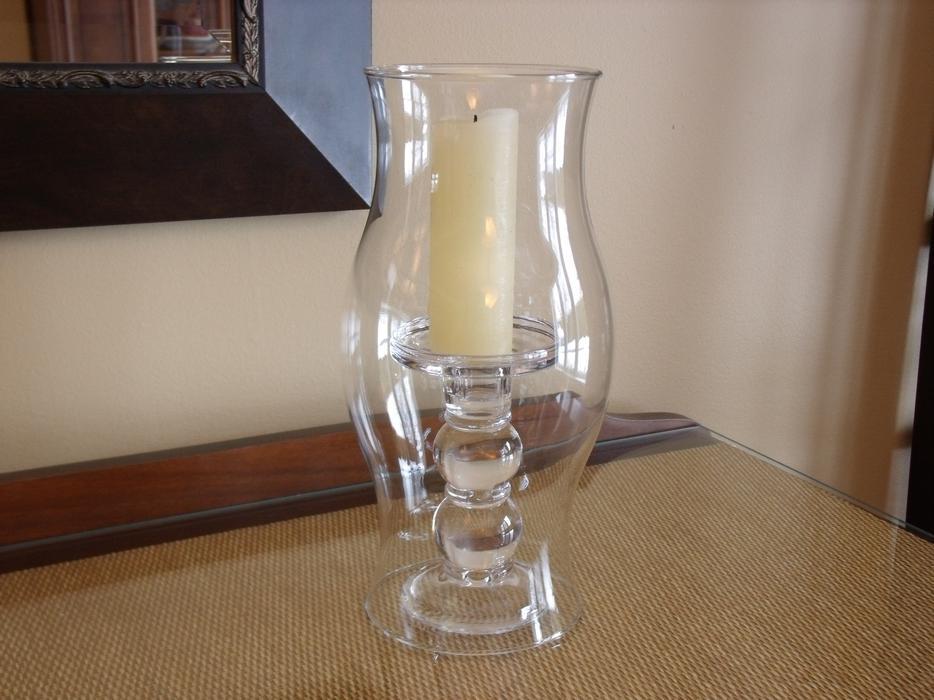 Set Of 3 Extra Large Glass Hurricane Candle Covers Wedding Decor Stittsville Ottawa