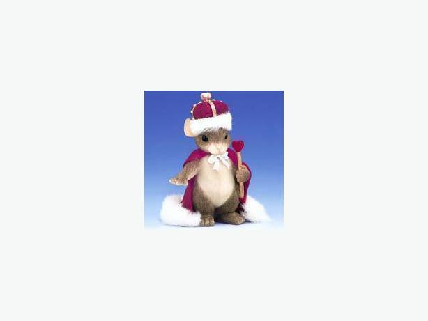 Charming Tails King of My Heart Figurine Mouse 84/113 - $15