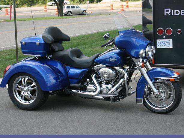 Harley Davidson Motor Trike Conversion Kit Tour Models ...