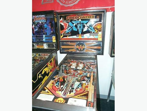 WANTED: PINBALL MACHINE