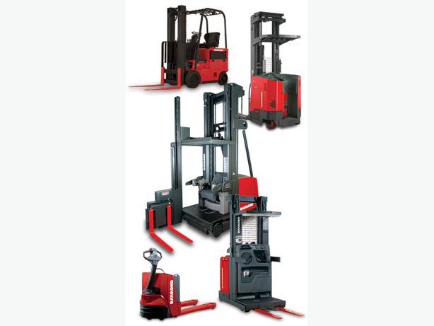 forklift reachtruck electric pallet jack rental west