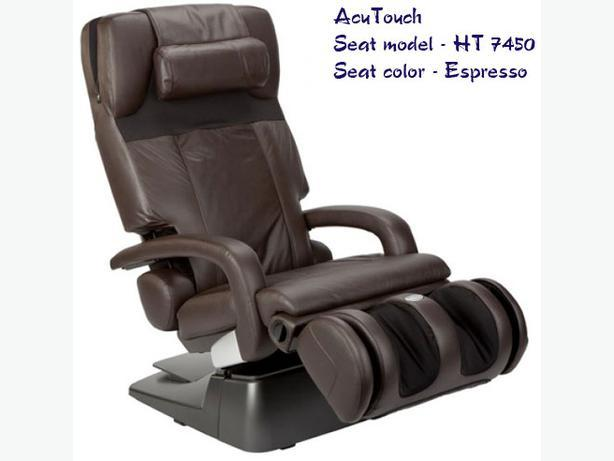 Acutouch ht 7450 zero gravity massage chair central nanaimo nanaimo - Massage chairs edmonton ...