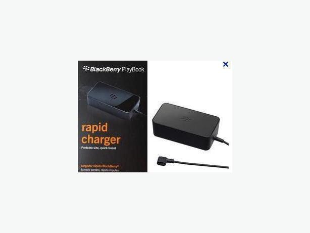 BlackBerry PlayBook Rapid Travel Charger - NIB
