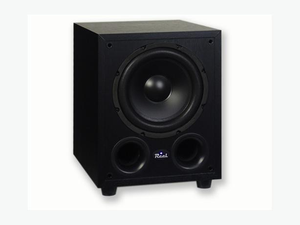 "Reel Acoustics RSS10i 100 Watt RMS 10"" Powered Subwoofer"