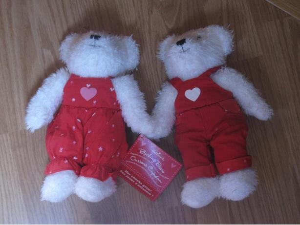 Adorable Valentines Blushing Bears - new with tags
