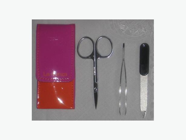 La Senza hot pink and orange manicure set - new