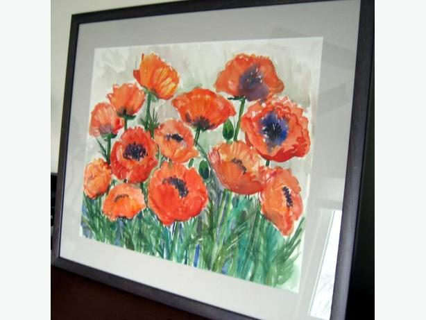 Art - Poppies - Original Watercolour