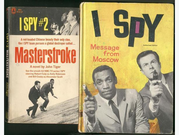 I Spy Books Bill Cosby Robert Culp