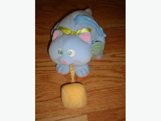 New Aronimal Plush Cat Vanilla Scented Pull Toy - $7