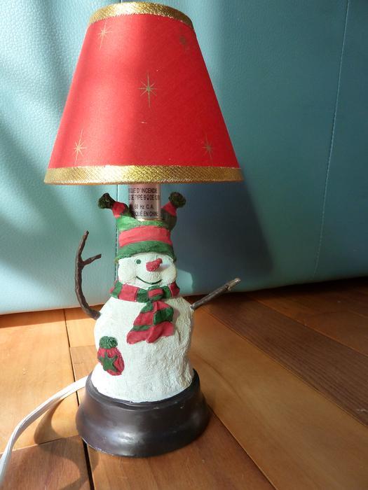 Salt Lamps Kamloops : Snowman Lamp North Saanich & Sidney , Victoria
