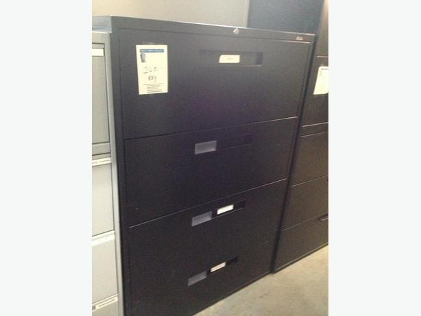 4 Drawer Lateral File Cabinets, New Inventory
