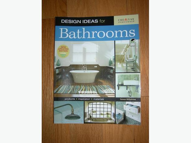 """Design Ideas for Bathrooms, Second Edition"" by Susan Boyle Hillstrom"