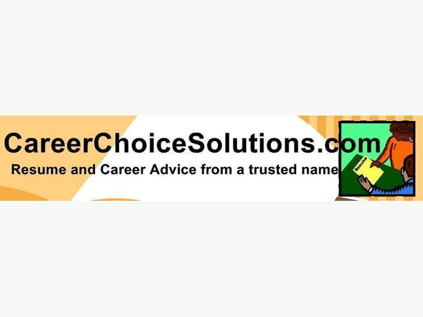 Professional Resume Services - CareerChoiceSolutions.com