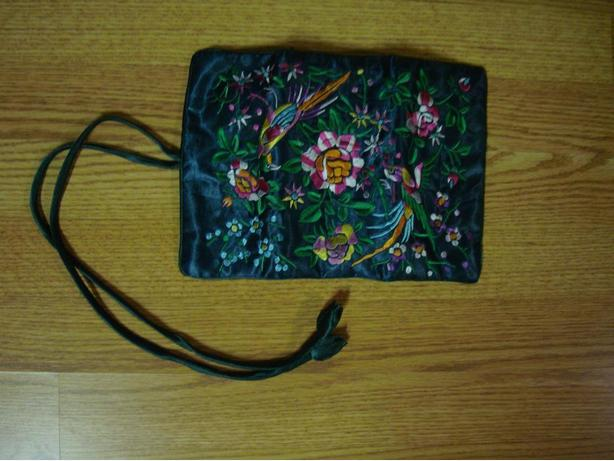 New Embroidered Travel Bag Pouch - Excellent Condition! $2