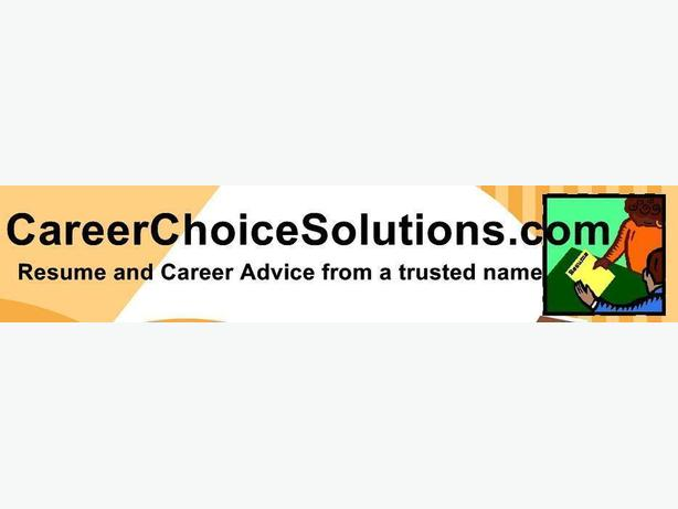 Professional Resume Services CareerChoiceSolutionscom Outside
