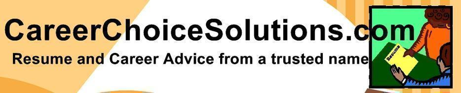 professional resume services careerchoicesolutions