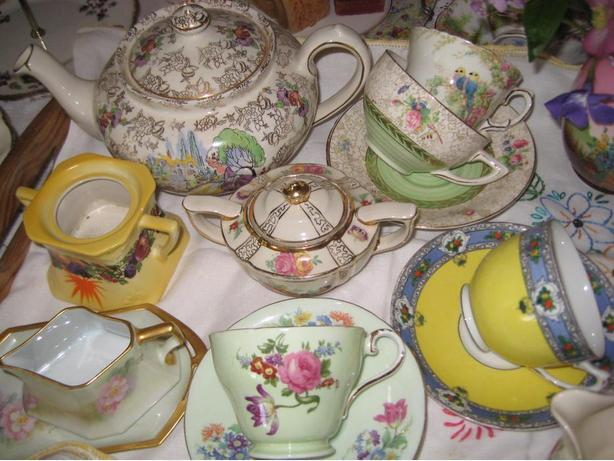 Vintage China for Wedding and Party Rentals