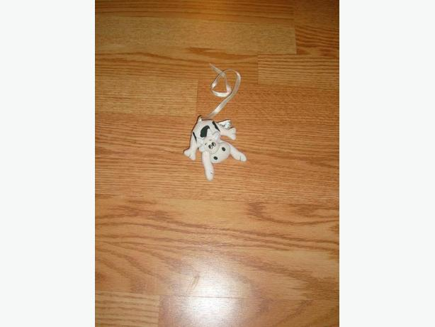 Fabric Cow Bookmarker - Excellent Condition! $1