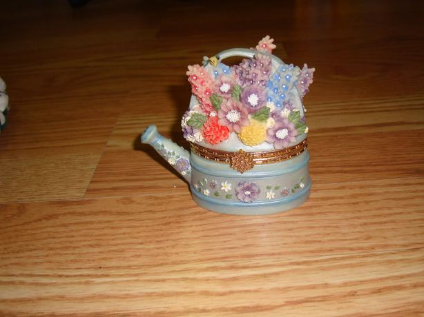 Collectable Brittany's Treasures Teapot Box Larkspur (July)!