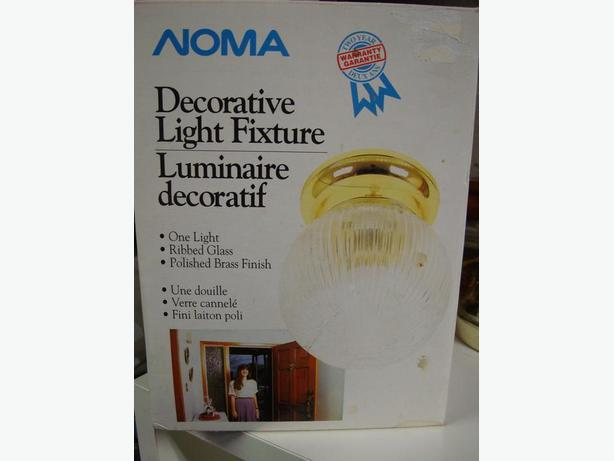 Noma Light Flushmount Fixture in Box - $3