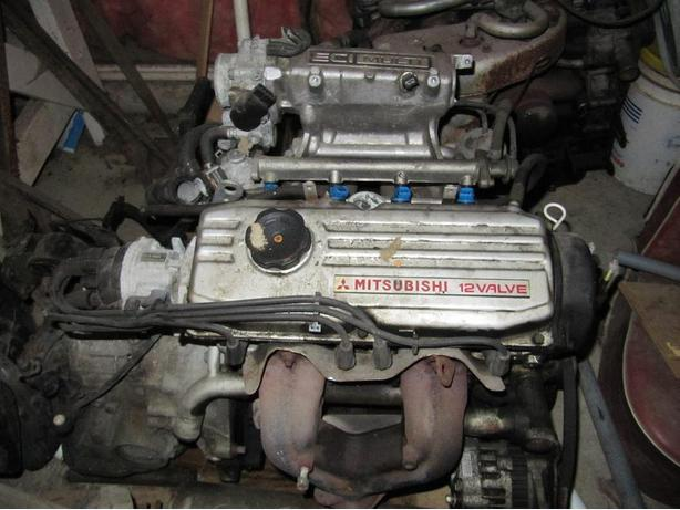 Dodge Colt /Mitsubishi Motor and transmission for sale
