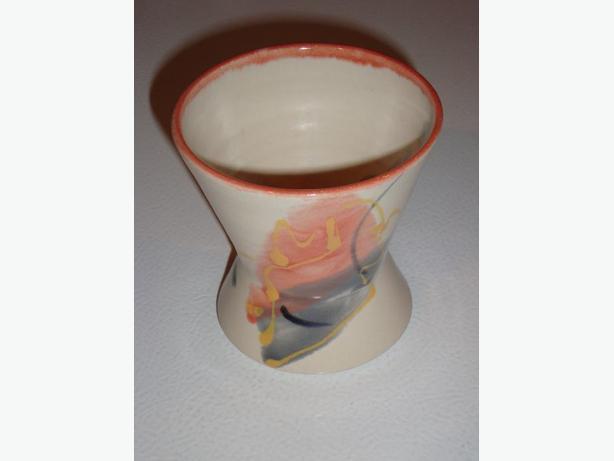 Ceramic bathroom cup