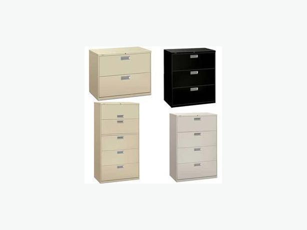 3 Drawer Lateral File Cabinets (5)