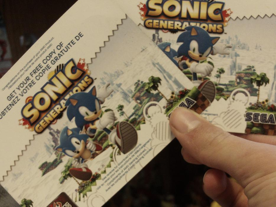 Sonic Generations South Island
