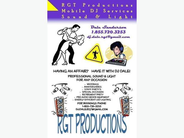 RGT Productions - Mobile DJ Services