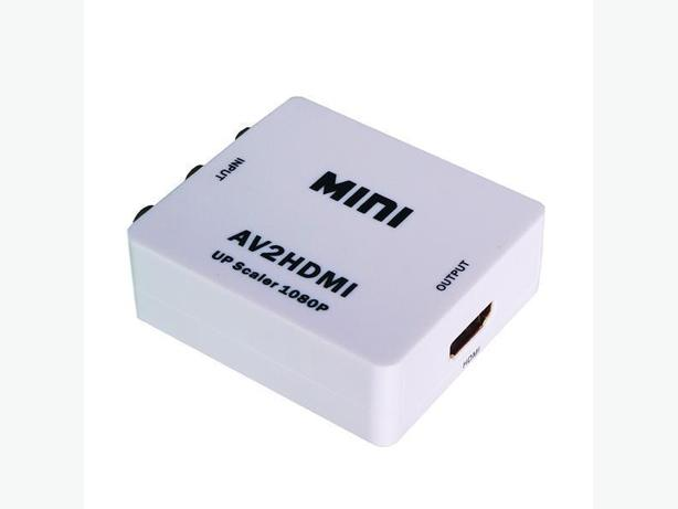 New Dual Format (NTSC & PAL) AV to HDMI Converter