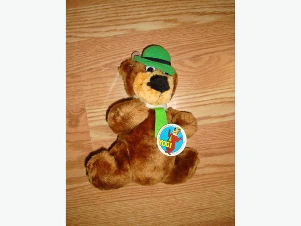 Collectable Yogi Bear Plush Toy For Sale - Excellent Condition!