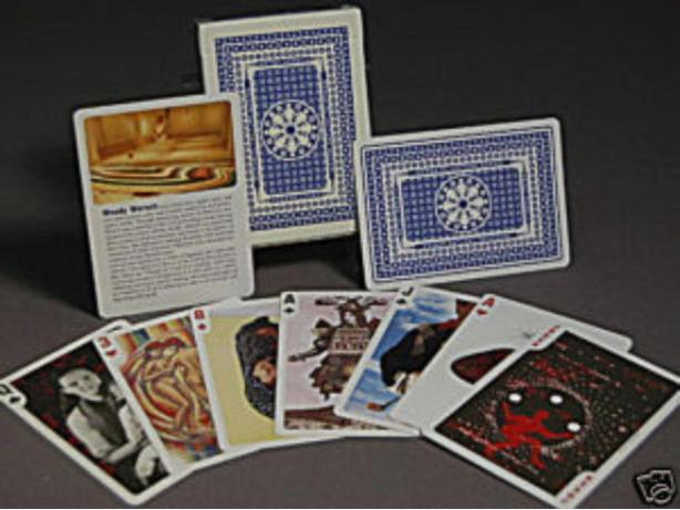 LIMITED EDITION ARTISTS' PLAYING CARDS - W. WERSCH MEMORIAL FUND