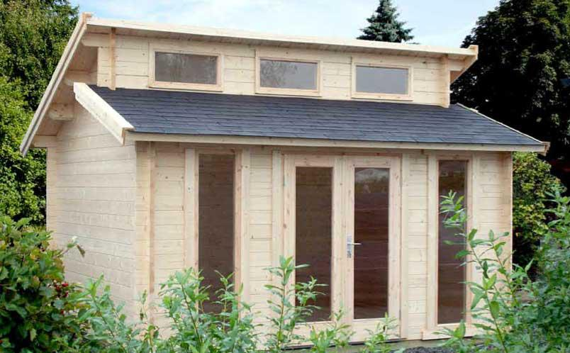 Funky 13 39 x13 39 backyard log cabin central saanich victoria for Log cabin kit homes victoria