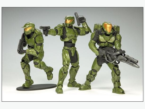 WANTED: Halo Figures