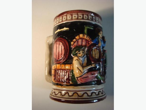 Vintage Beer Stein Mug