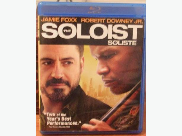 The Soloist - Jamie Fox, Robert Downey Jr.- Blue Ray