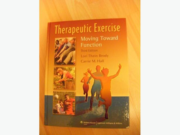 Therapeutic Exercise: Moving Toward Function by