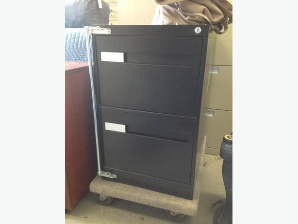 Vertical file cabinets, 2 drawer, 3 drawer and 4 drawer