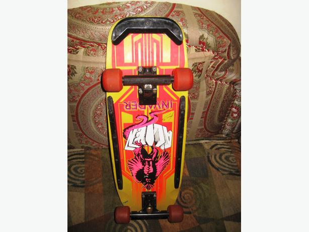 Rare Vintage 80S Alien Invader Workshop Complete Pro Skateboard