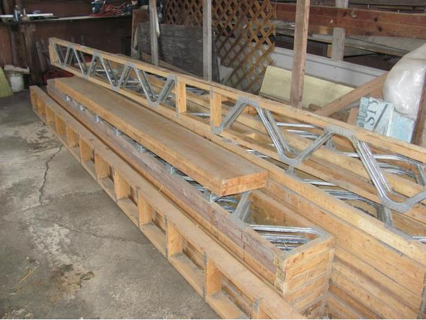 Web 2000 floor joists