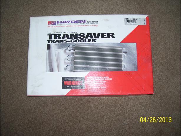 Hayden Transaver Trans-Cooler 0C-1401 oil cooler Honda Toyota Ford Chev