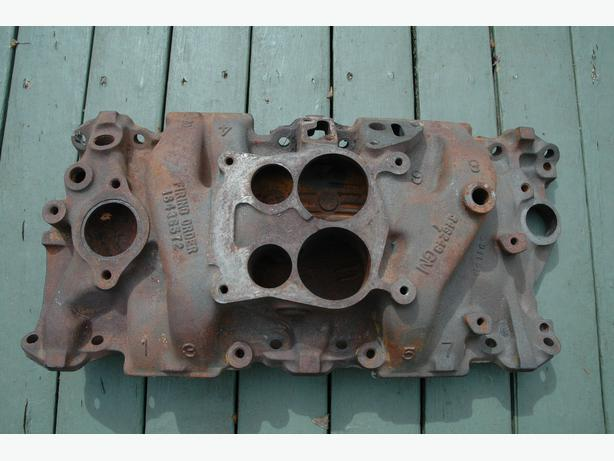4-barrel intake manifold for 305 cu in