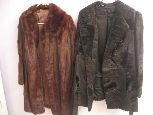 FUR COATS-LIKE NEW