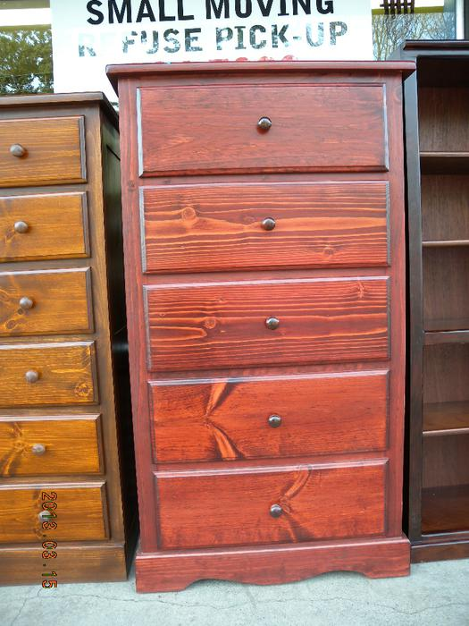 Brand new cherry tall boy dressers night stands loi 39 s for Consignment furniture clearwater