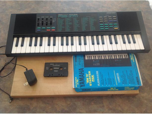 yamaha pss 270 portasound voice bank electronic keyboard