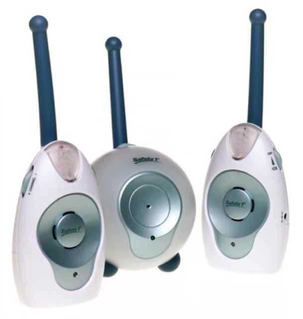 brand new safety 1st safe glow nursery monitor 2 receiver. Black Bedroom Furniture Sets. Home Design Ideas